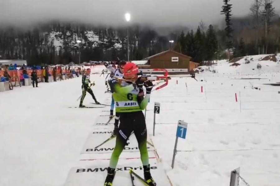 Biathlon - Europei Juniores: rinvincita di Cisar, che vince la sprint su Hornig