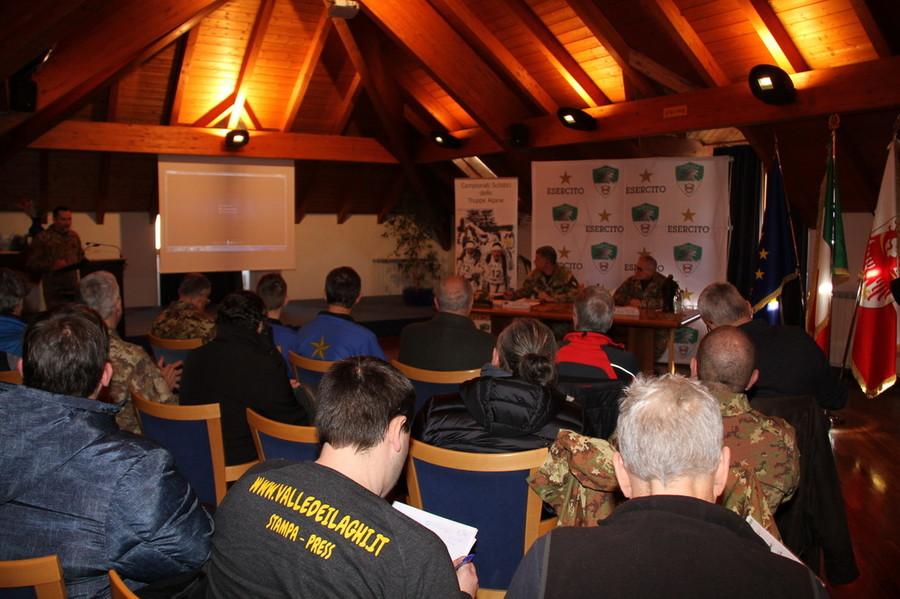 Presentata la 71ª edizione dei Campionati Sciistici delle Truppe Alpine