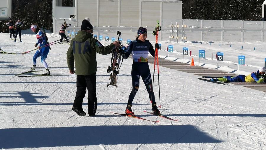 Dorothea Wierer (foto Biathlon Antholz)