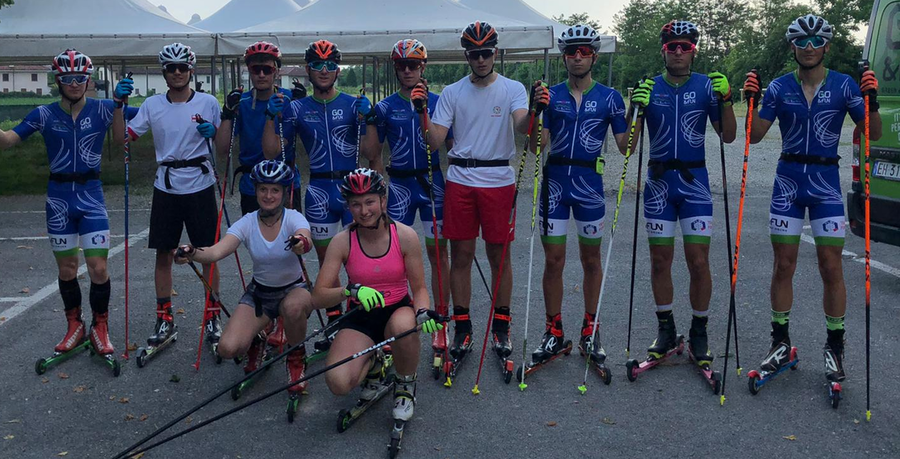 Sci nordico: la stagione 19\20 della squadra del Comitato AOC è iniziata da Osasco