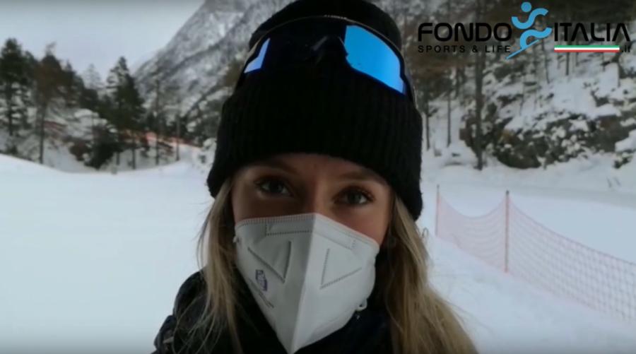 """VIDEO, Biathlon - Hanna Auchentaller: """"Il mio obiettivo è qualificarmi per i Mondiali"""""""