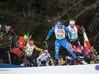 L'azzurra in gara con Zattoni a incoraggiarla; un'immagine che vediamo spesso (Foto: Stefano Jeantet)