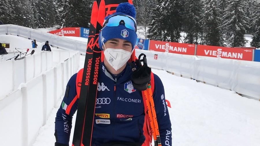 """Biathlon - Didier Bionaz: """"Sono veramente contento, ho dato tutto nell'ultimo giro"""""""