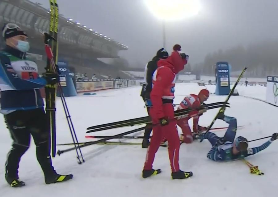 Sci di Fondo - La Norvegia vince anche la staffetta maschile a Lahti. Bolshunov reazione fuori di testa al traguardo