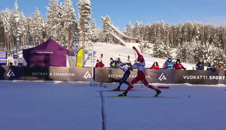 Sci di Fondo - E' BRONZO! L'Italia juniores maschile prende la medaglia nella staffetta iridata a Vuokatti