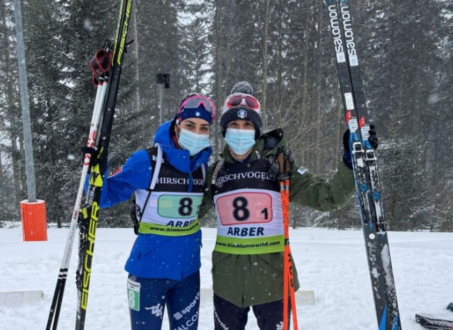 Daniele Cappellari e Rebecca Passler