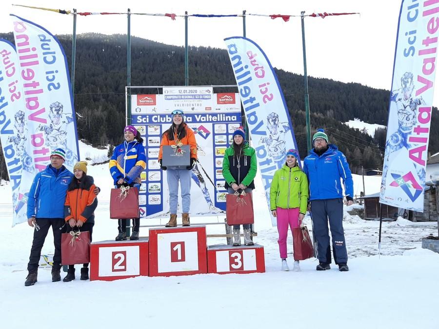 Fondo - A Valdidentro assegnati i titoli regionali del Comitato Alpi Centrali
