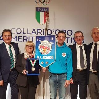 """Unione Sportiva Asiago premiata con il Collare d'Oro, Roberta Rodeghiero: """"Il nostro segreto? La passione"""""""