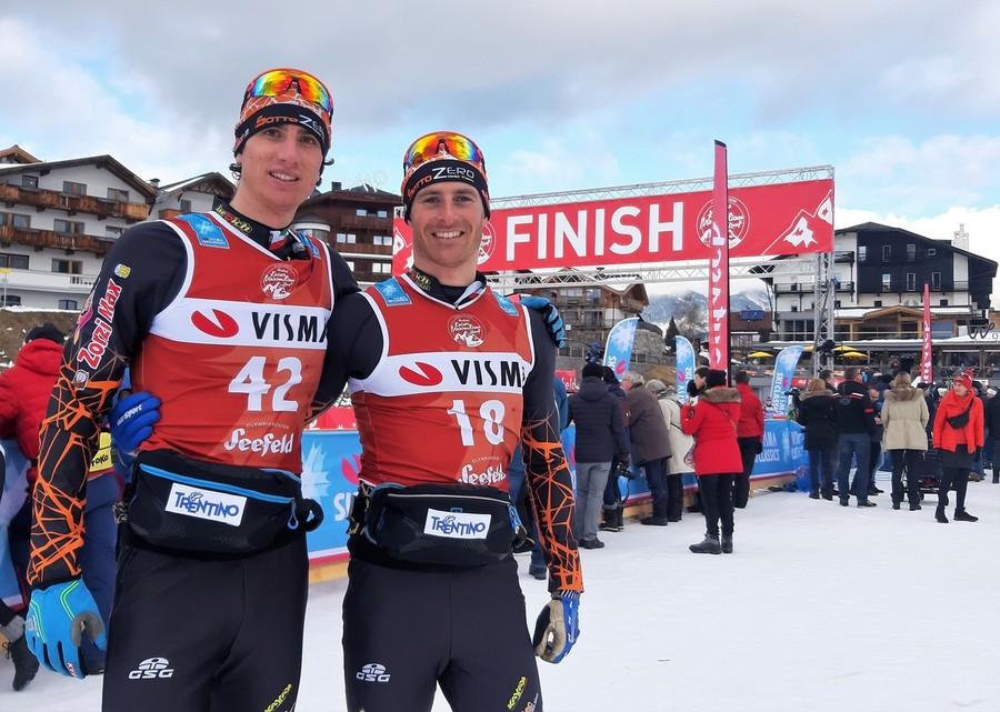 Granfondo - Grande soddisfazione nel SottoZero Gold Team Zorzi Max Orsaiec per la prestazione di Brigadoi in Austria