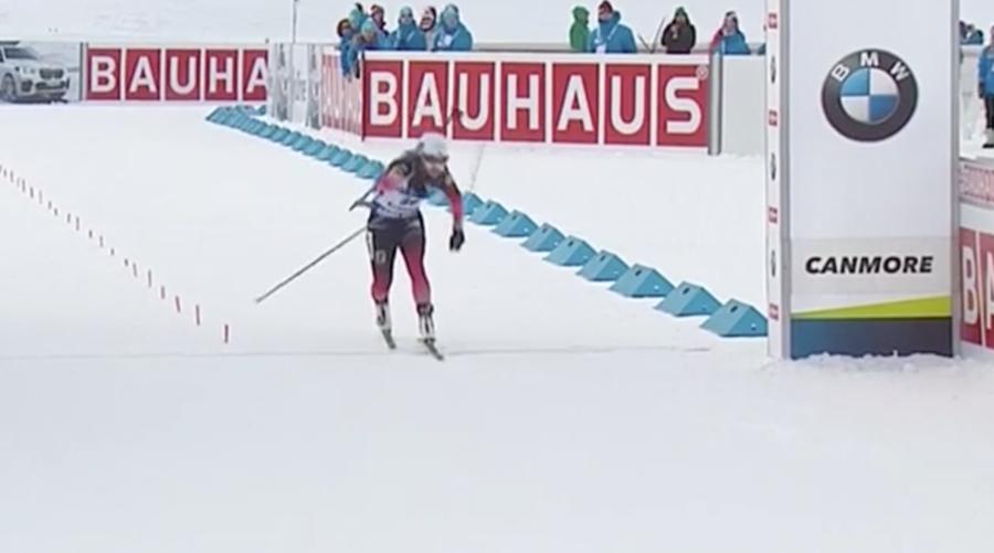 Biathlon - Eckhoff si sblocca a Canmore, Vittozzi sul podio