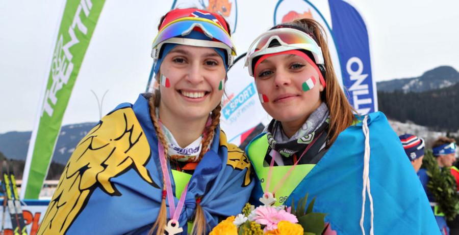 Karin Punter e Anna Dosso (Foto FISI FVG)