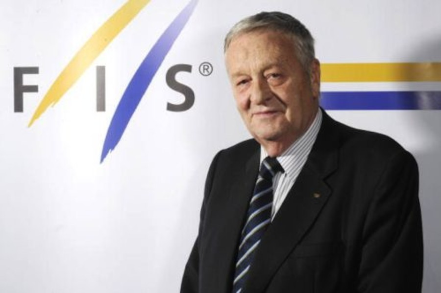 Gian Franco Kasper, presidente della FIS dal 1998