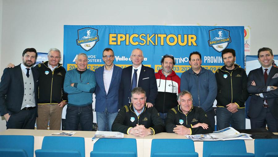 Epic Ski Tour 2020: presentate le due tappe che si disputeranno in Valle d'Aosta e Trentino