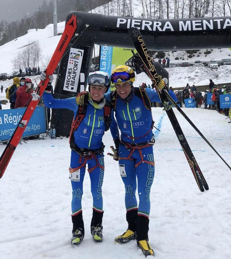 Sci Alpinismo - Il primo titolo Mondiale Long Distance a coppie se lo aggiudicano Boscacci-Magnini e De Silvestro-Murada