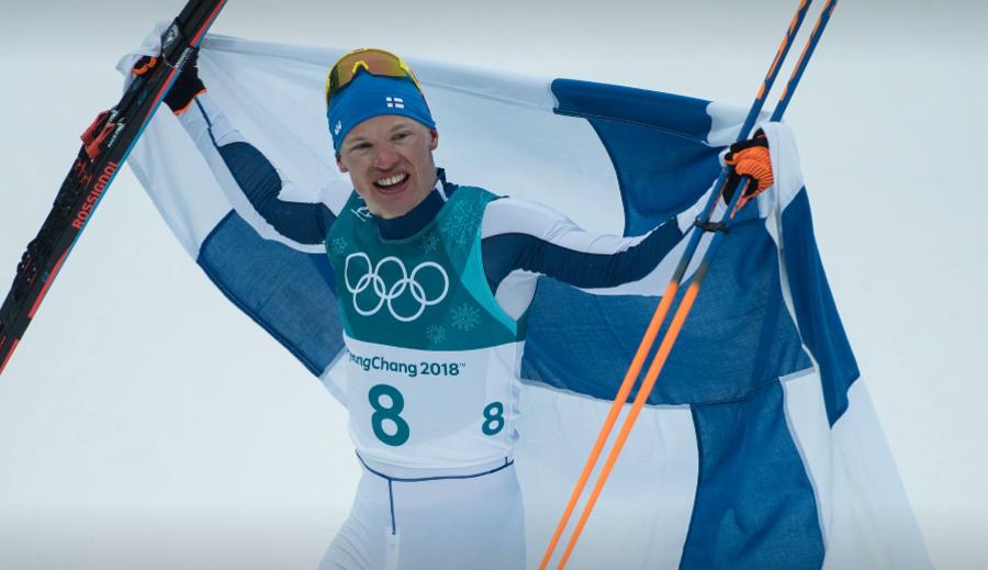 Iivo Niskanen, leader della classifica di distanza