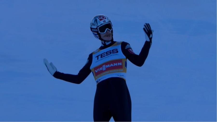 Salto con gli sci - Intevento alla schiena per Robert Johansson