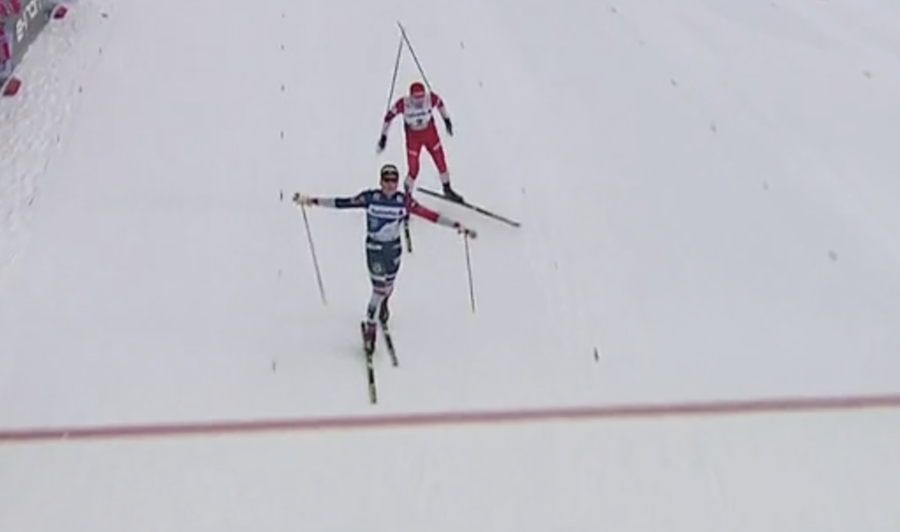 Fondo - Inseguimento Oberstdorf, Klæbo batte Ustiugov allo sprint. De Fabiani sesto