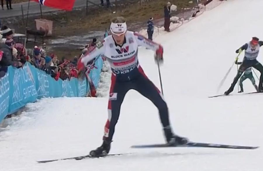 Combinata Nordica - Magnus Krog domina il segmento di fondo della Mass Start di Lillehammer