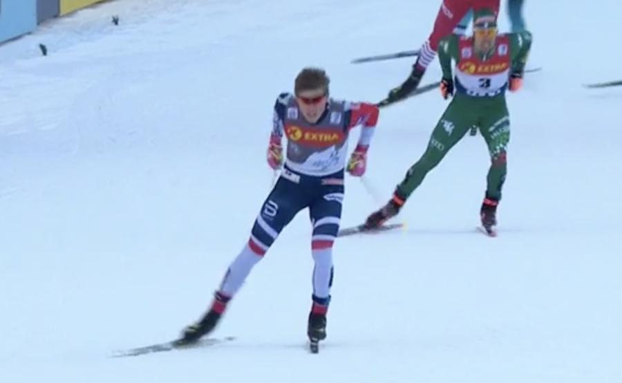 Fondo - Klæbo ruggisce e vince la sprint di Quebec City, Pellegrino è secondo