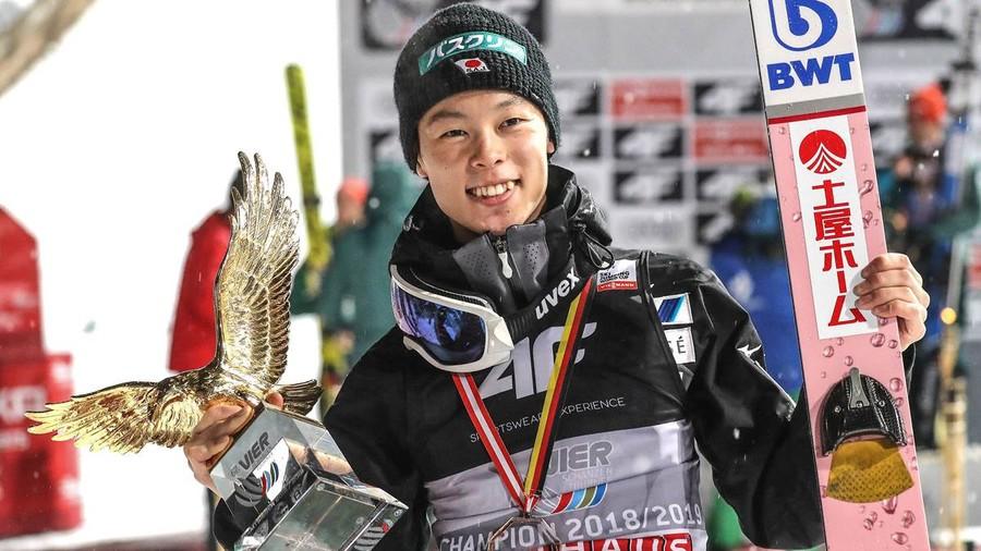 Ryoyu Kobayashi parteciperà alla ultime due tappe del GP. Kasai in Continental Cup