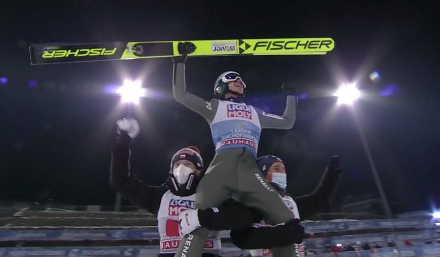 Kamil Stoch nella storia: vince per la terza volta la Tournée dei Quattro Trampolini
