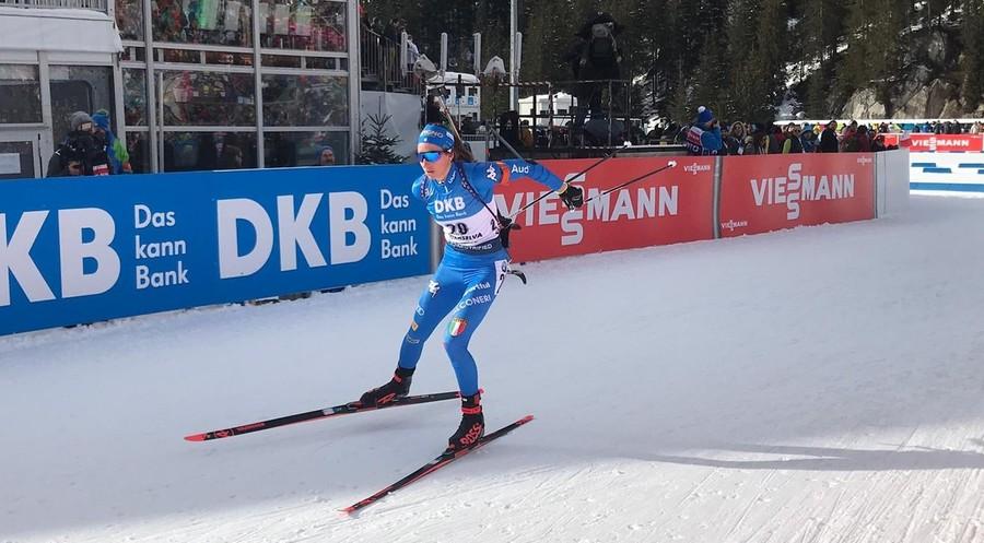 """Anterselva 2020, Lisa Vittozzi dopo il sesto posto nella sprint femminile: """"Ho dato il massimo, ottimista in vista delle prossime gare"""""""