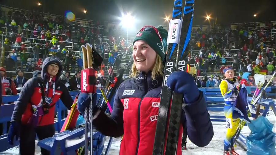 Biathlon - Lieve problema fisico per Marte Olsbu Røiseland, salta il raduno con la squadra
