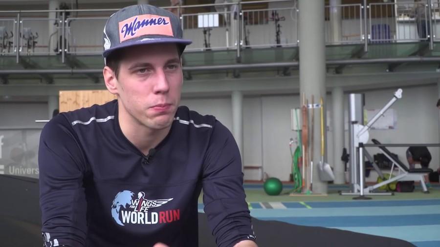 Lukas Müller è tornato a camminare