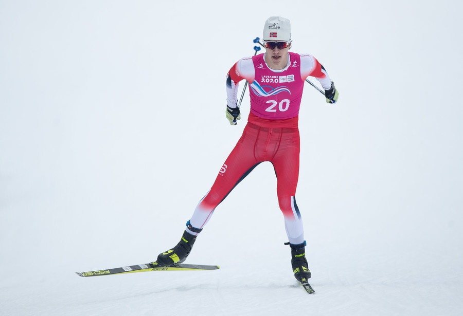 Nikolai Holmboe, Norvegia (credit: Olympic Information Services)