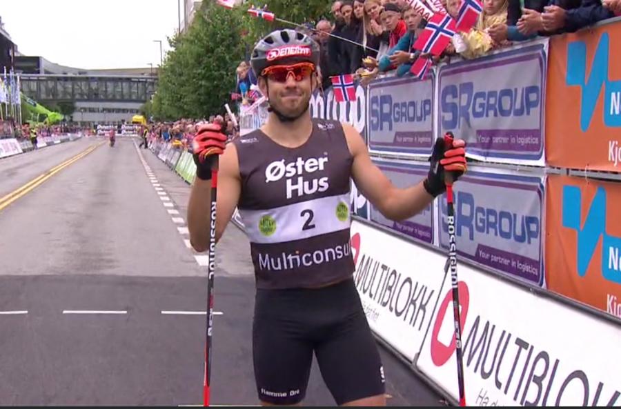 Federico Pellegrino trionfa nella sprint del Blink Festivalen