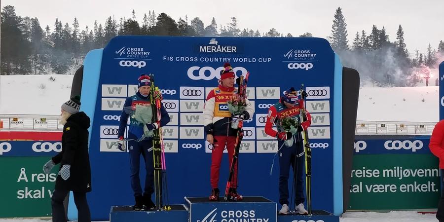 Alexander Bolshunov vince a Meraker la granfondo dello Ski Tour e vola in testa alla classifica
