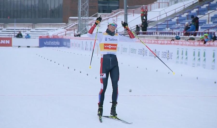 Uno straripante Jarl Magnus Riiber detta legge anche nella seconda gara di Otepää