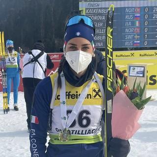Biathlon -  IBU Cup: bel terzo posto di Rebecca Passler nella sprint di Obertilliach
