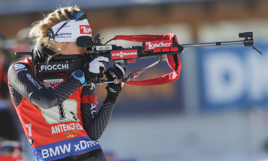Biathlon, Alpen Cup - Federica Sanfilippo si riscatta nella sprint di Forni Avoltri, sul podio Gontier e Fauner