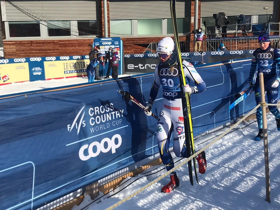 Sci di Fondo - Linn Svahn vince la qualificazione della sprint classica in Val di Fiemme. 18° Lucia Scardoni