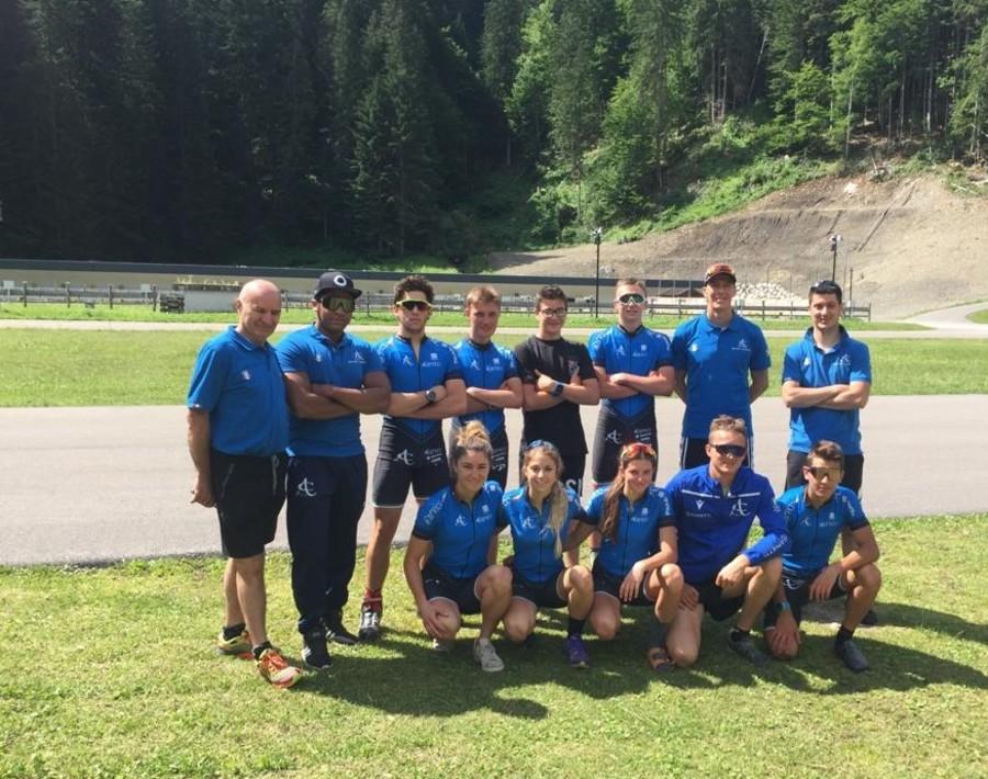 Biathlon - È partita da Forni Avoltri la preparazione della squadra del Comitato Alpi Centrali