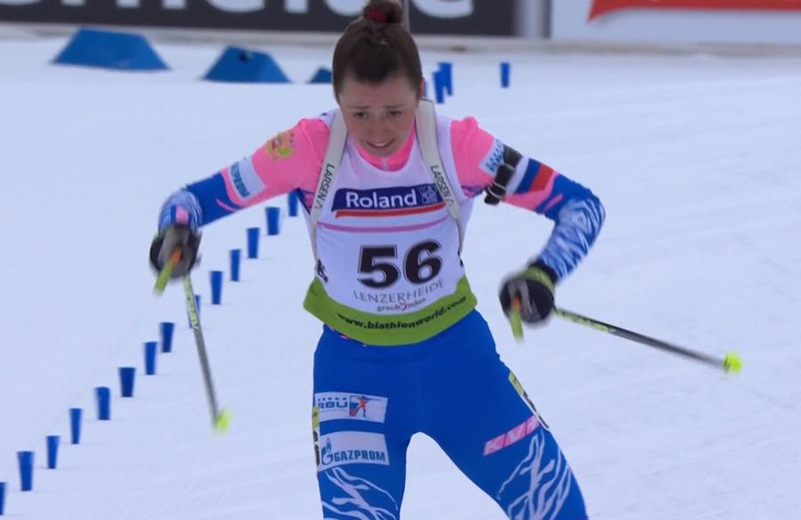 Biathlon, Mondiali Juniores: Anastasia Shevchenko d'oro anche nella Pursuit