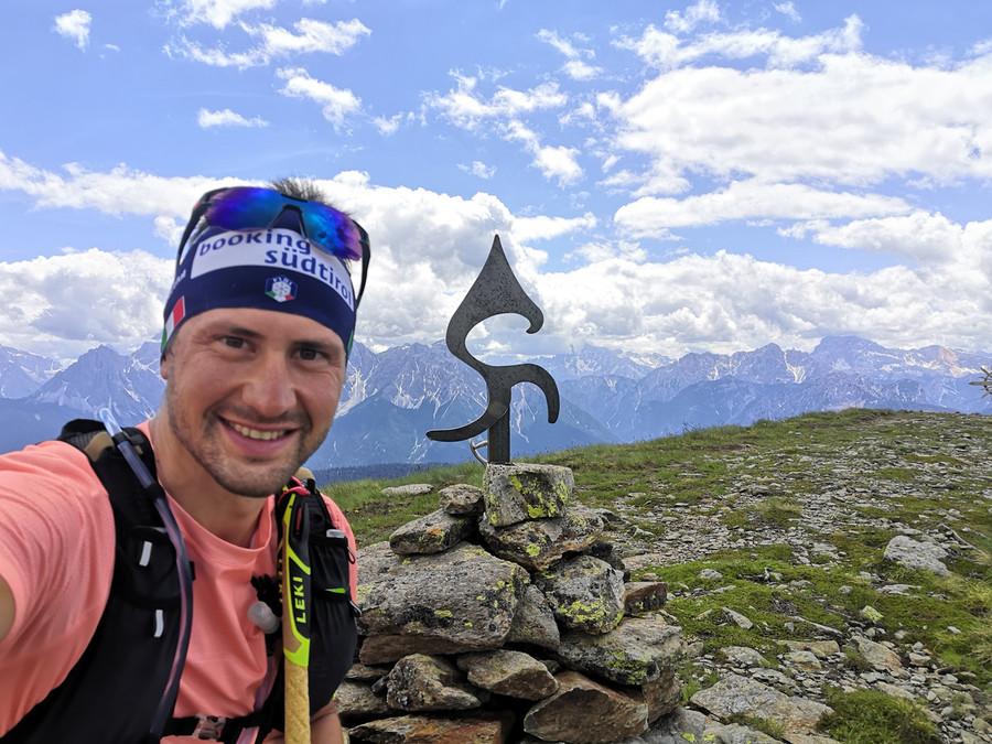 Biathlon - Dominik Windisch si è allenato sullo Stoneman Dolomiti