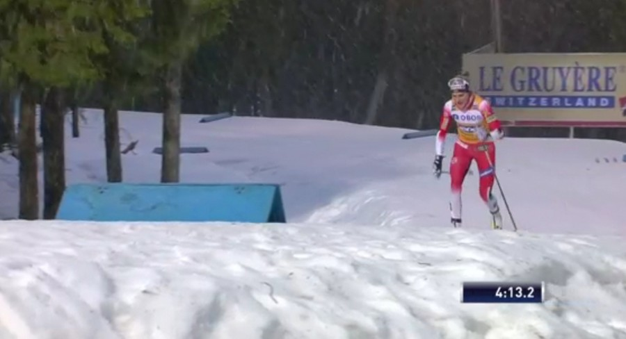 Therese Johaug domina sotto la neve anche la Pursuit dello Ski Tour e prende il largo in classifica