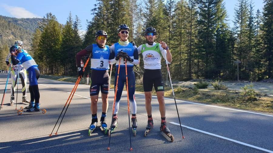 Skiroll - La mass start in tecnica libera è di Riccardo Lorenzo Masiero e Paola Beri