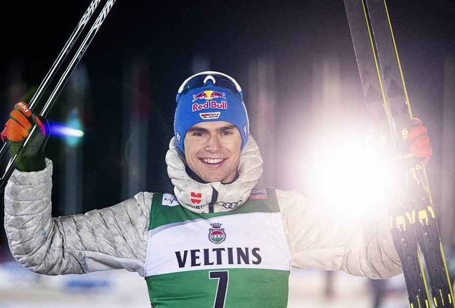 Vinzenz Geiger (foto tratta dal profilo Facebook dell'atleta)