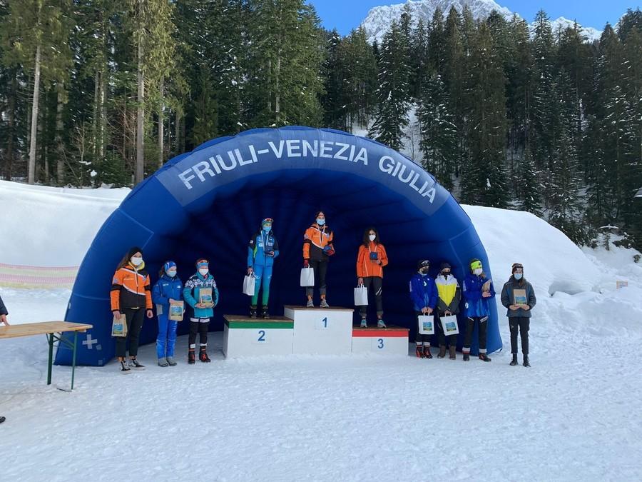 Biathlon - Campionati Italiani Ragazzi U13: doppietta di Julian Huber e vittoria di Luna Forneris