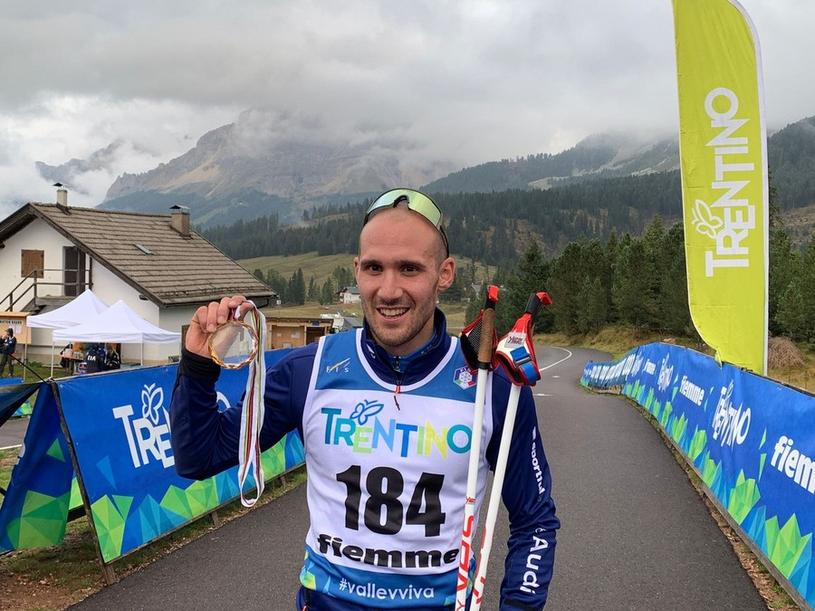 Mondiali Skiroll - Matteo Tanel è oro!!