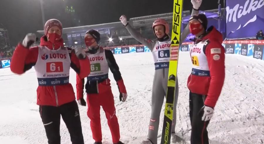 Salto - Dalla roulette di Zakopane esce il numero dell'Austria; una beffa per la Polonia
