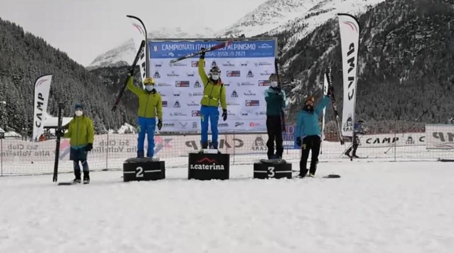 Sci Alpinismo - Campionati Italiani: Alba De Silvestro e Davide Magnini vincono l'individuale