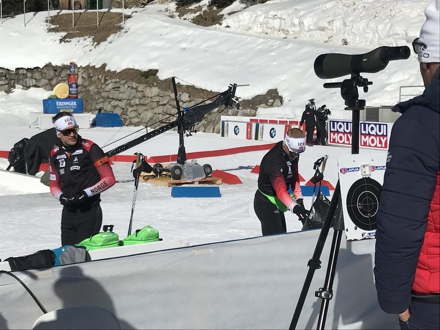 """I fratelli Bø commentano il passaggio di Stina Nilsson al biathlon: """"È fantastico"""""""