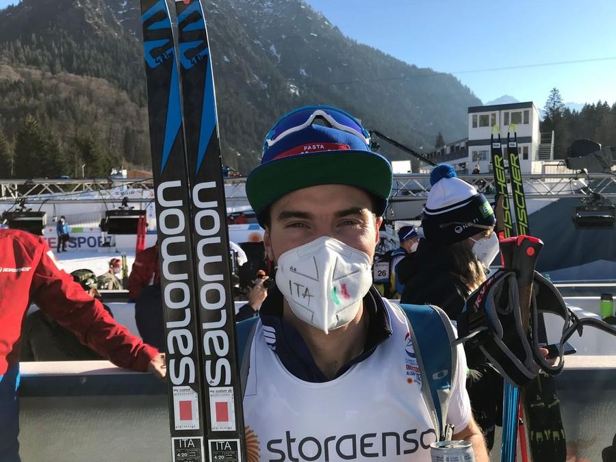"""Oberstdorf 2021 - Alessandro Pittin: """"Sul large hill devo cambiare registro, altrimenti non merito la team sprint"""""""