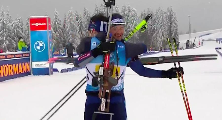 """Biathlon, Tommaso Giacomel: """"Siamo una squadra fortissima, il podio è più che meritato"""""""