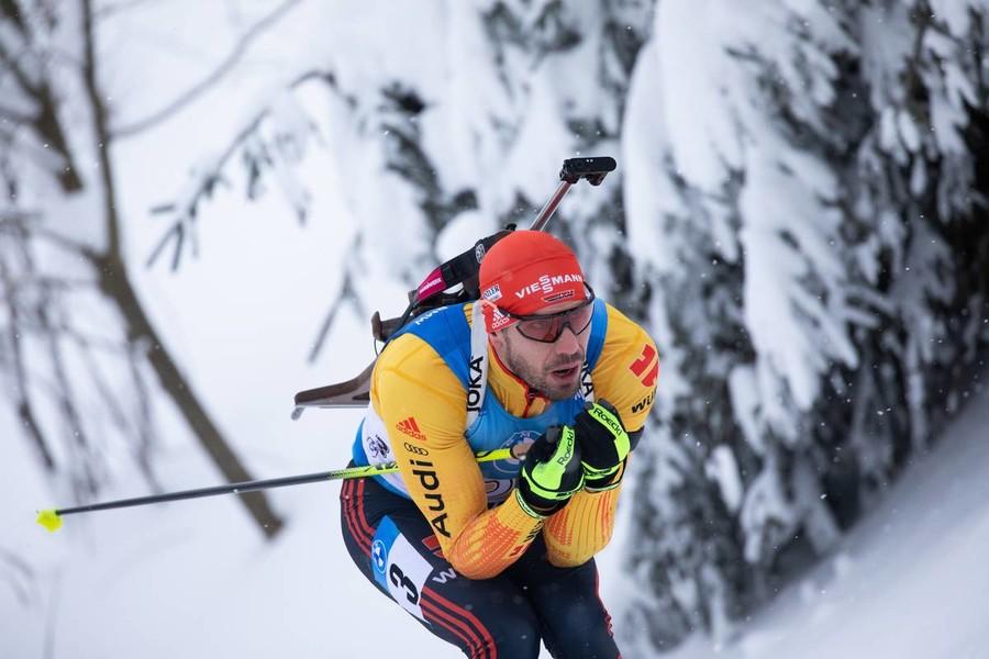 Arnd Peiffer, unico medagliato individuale tedesco (foto Manzoni-IBU)