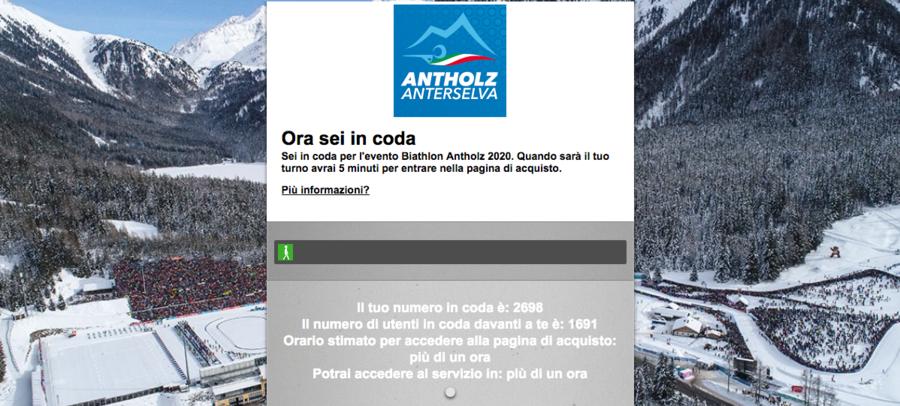 Biathlon - Tutti in coda per Anterselva 2020: è corsa ai biglietti delle singole gare in vendita da oggi